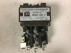 Cutler Hammer A10dno Size 2 Motor Starter With A 240 Volt Coil