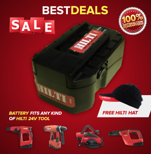 24v Battery For Hilti 24v Tools Brand New Free Hat Fast Shipping