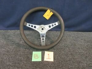 Superior The 500 Steering Wheel Hot Rod Muscle Racing Vintage 14 5 Used