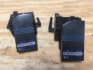 Kustom Signals Clearcomm Dss Transmitter Units With Charging Station