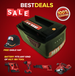 18 Volts Battery For Hilti 18v Tools Brand New Free Hat Fast Shipping
