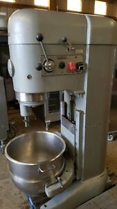 Hobart 80 Qt M802 Mixer With Powered Bowl Lift