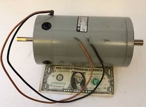 Vtg Used Indiana General 12v Dc Electric Motor 310 Rpm Part No 4030 33 Working