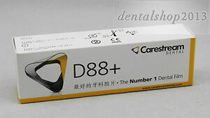 500pcs Dental Kodak D speed Periapical X ray Films Carestream D88 Adult Size 2
