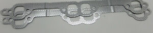 S B Chevy Enginetech Exhaust Manifold Gasket 2 Sets 55 86