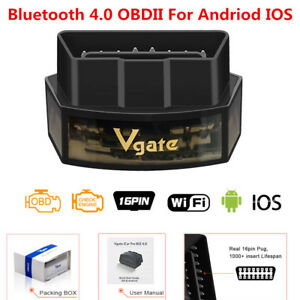 Bluetooth 4 0 Obd2 Scanner Code Reader Diagnose Obdii App Andriod Iphone Ipad