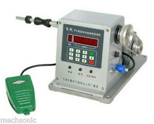 New Computer Controlled Coil Transformer Winder Winding Machine 0 03 0 35mm