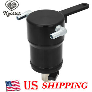 New Billet Oil Catch Can Tank For 2011 2017 Ford Ecoboost F 150 5 0l Explorer