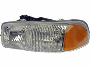 Left Headlight Assembly For 2001 2006 Gmc Sierra 2500 Hd 2002 2003 2004 F429bc