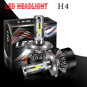 Pair 9003 H4 White Super Bright Light Bulb Headlight For 2003 2005 Honda Pilot