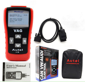 Autel Maxscan Vag405 Code Reader Obd2 Eobd 2 In 1 Code Scanner For Vw Audi