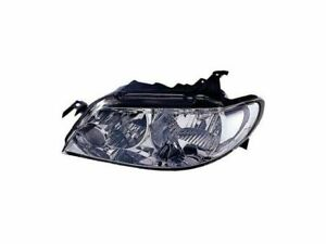 Left Driver Side Headlight Assembly For 2002 2003 Mazda Protege5 C637xv
