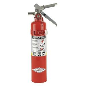 Dry Chemical Fire Extinguisher With 2 5 Lb Capacity And 10 Sec Discharge Time