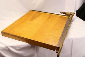 Vintage Ingento No 6 Guillotine Paper Cutter Trimmer 24 X 24 Made In U s a