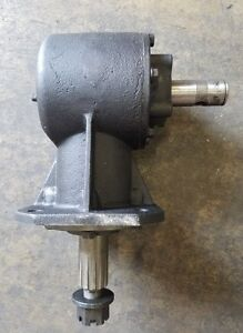 King Kutter Replacement 45hp Gearbox 184000 Shear Bolt Input Shaft Free Shipping