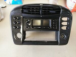 Porsche 996 Upper Console Vents Trim 99 01 Carbon Fiber