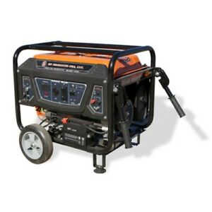 Bn Products Gas Generator Bng3000 3000w Portable Electric Start Gfci Plugs