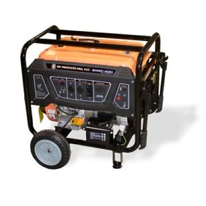 Bn Products Gas Generator Bng5000 5000w Portable Electric Start Gfci Plugs