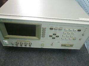 Hp agilent 4285a 75khz 30mhz Precision Lcr Meter Option1