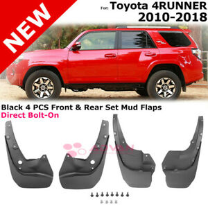 Mudguards For Toyota 4runner 4 Runner 2010 2018 Splash Guards Mudflaps Full Set