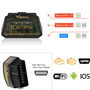Bluetooth4 0 Adapter Obd2 Code Reader Diagnostic Scanner For Andriod Iphone Ipad