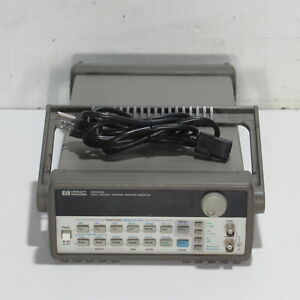 Hp agilent 33120a 15 Mhz Function arbitrary Waveform Generator With Option 001