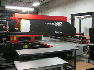 33 Ton Amada Vipros 357 Queen Cnc Turret Punch Press Sanson Nw
