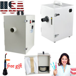 1000w Dental Dust Collector Vacuum Collecting Cleaner Digital Single row Machine