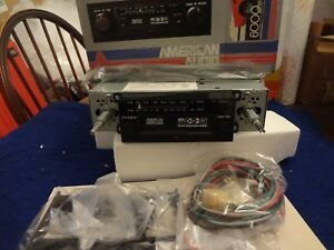 Nos American Audio Pr 6402 Am fm mpx Car Stereo W cassette Classic Car Dream