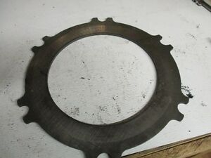 Case Tractor Plate Part A159102 take Off Part