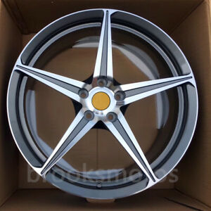 20 5 Spoke Style Forged Wheels Rims Fits For Ferrari 458 20x8 5 10 5