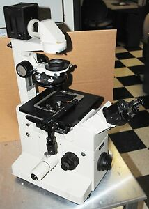 Nikon Tmd Diaphot Inverted Microscope