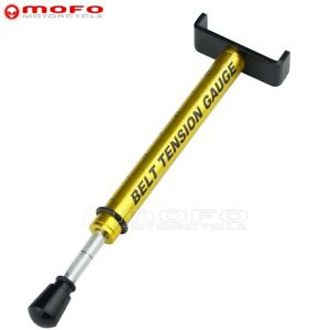 160mm Motorcycle Tool Belt Tension Gauge For Harley Softail Adjustable Tensioner