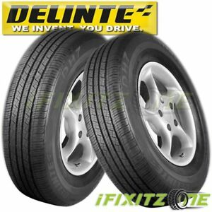 2 Delinte Dh7 225 70r16 103t All Season Highway Performance Tires 225 70 16