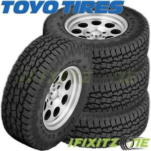 4 Toyo Open Country A T Ii Xtreme Xt Lt285 75r18 10 129s All Terrain Tires