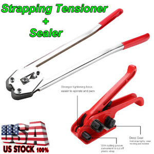 Strapping Tensioner Packing Tools Straps Binder Buckle Banding Machine Sealer