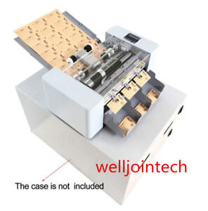 220v Full auto A3 Card Cutter Name Card Slitter Business Card Cutting Machine