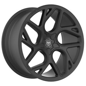 4 Gwg Bremen 20 Inch Satin Black Rims Fits Dodge Magnum 2005 2008