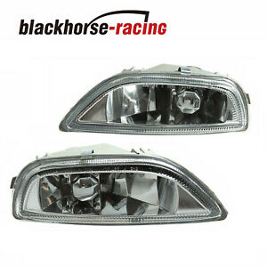 New Clear Glass Fog Driving Lights Bumper Lamp For 2001 2002 Toyota Corolla