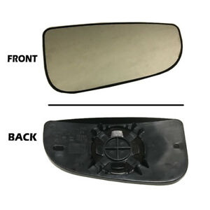 Dodge Ram Tow Mirror Glass Rh Right Passenger Outer Convex 2010 2019 Fourth Gen