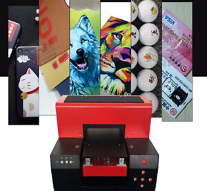 A3 Uv Flatbed Printer Color Printing Of Any Flat Material