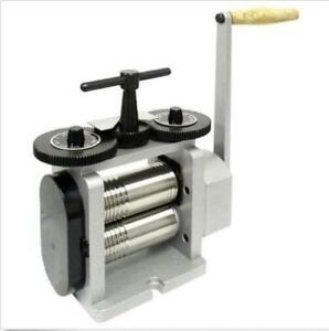 Brand New Combination Rolling Mills 130mm Flat Square Half Round Sheet Stock