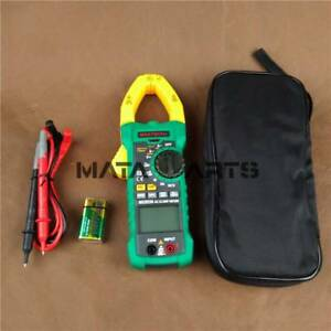 Mastech Digital Clamp Meter B0296 Ms2015a Ac dc A v Res Cap Freq True Rms 1000a