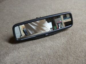 Toyota Nissan Rear View Mirror With Camera Display 026137 Oem Gntx 657