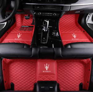 Luxury Custom Car Floor Mats For Maserati Ghibli S Sq4 Base Sedan 2014 2019