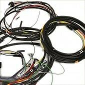 Complete Wiring Harness Fits Willys Station Wagon 6 230 Tornado 62 63