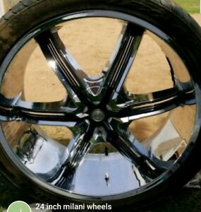 24 Inch Millani Wheels And Tires