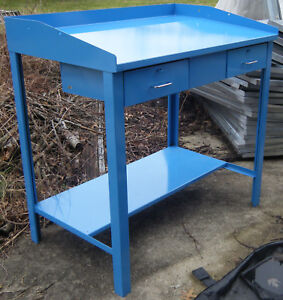 Workshop Foreman s Desk Extra Fine Condition Metal Desk local Pick up Only