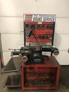 Ammco 4000b Disc Drum Brake Lathe Loaded W Complete Adapter Kit