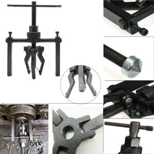 Auto 3 Jaw Pilot Inner Bearing Puller Tool Kit Bushing Gear Extractor Motorcycle